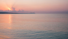 Tranquil morning seascape Stock Photo