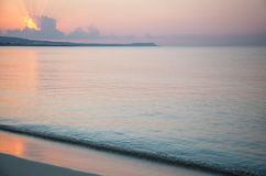 Tranquil morning seascape Royalty Free Stock Images