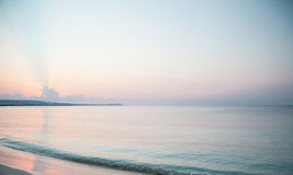 Tranquil morning seascape Royalty Free Stock Photos