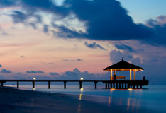 Free Tranquil Ocean In The Twilight Stock Images - 9049214