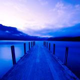 Tranquil Peaceful Lake at Sunrise Royalty Free Stock Photos