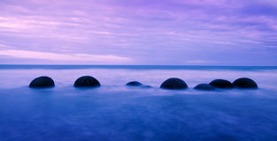 Tranquil Peaceful View and Cloudy Royalty Free Stock Photography