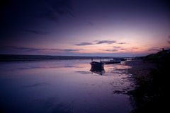 Tranquil scene. A tranquil lagoon in Dorset, England Stock Images