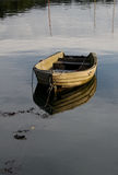 Tranquil scene of rowing boat Stock Photography