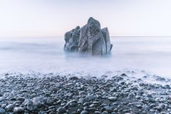 Free Tranquil Sea Rock Royalty Free Stock Image - 166558026