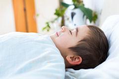 Tranquil sleep Stock Photo