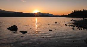 Tranquil Sunset, Lake District, UK Royalty Free Stock Photos