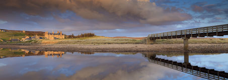 Tranquil sunset in Scotland Royalty Free Stock Images