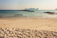 Tranquil tropical beach Royalty Free Stock Photography