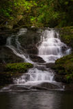 Tranquil Waterfall Royalty Free Stock Photo