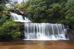 Tranquil waterfalls Stock Image
