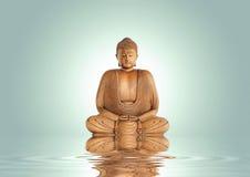 Tranquilidad de Buddha fotos de archivo libres de regalías