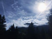 Tranquilidad en la montaña fotografía de archivo