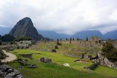 Tranquilidad en Macchu Picchu Stockfotos
