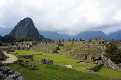 Tranquilidad en Macchu Picchu Stock Photos