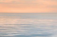 Tranquilidade no mar Imagem de Stock Royalty Free