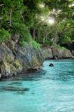 Tranquilidade tropical fotografia de stock royalty free