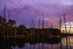 Tranquilité dans le paysage d'automne images libres de droits