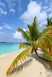 Tranquilité de plage Photographie stock