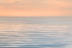 Tranquilité sur la mer Image libre de droits