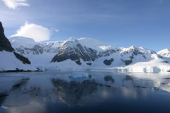 Tranquility in Antarctica stock photography