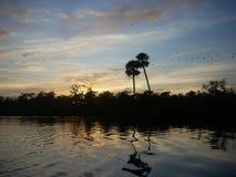 Tranquility& x27 de la puesta del sol; ‹del s†Imagenes de archivo