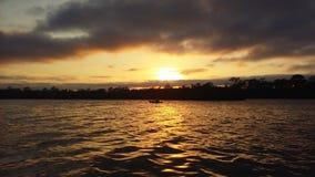 Tranquility& x27 de la puesta del sol; ‹del s†Fotos de archivo libres de regalías