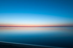 Tranquility at Lake Erie royalty free stock photos