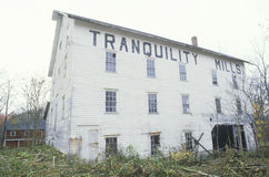 Tranquility Mills Royalty Free Stock Photos
