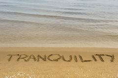 Tranquility Now Royalty Free Stock Photography