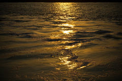 Tranquility on the sea in evening Royalty Free Stock Image