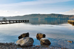 Tranquility And Solitude In The Lake District Stock Photography