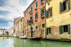 The tranquility of Venice. Venice from his other side. Far from the tourist masses you can also find quiet places royalty free stock photos