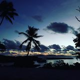Tranquilizante de Sun Fotografía de archivo libre de regalías