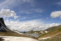 Tranquille en montagnes Photos stock