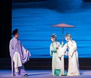 """Tranquillement dans l'amour avec-Kunqu le  blanc d'Opera""""Madame Snake†Image libre de droits"""