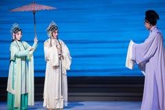 """Tranquillement dans l'amour avec-Kunqu le  blanc d'Opera""""Madame Snake†Image stock"""
