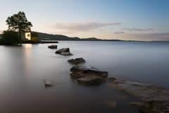 Tranquillità di Derg del Lough Immagini Stock