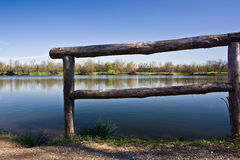 Tranquillity on the lake Stock Photo
