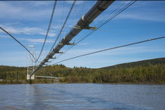 trans трубопровода Аляски Стоковые Фото