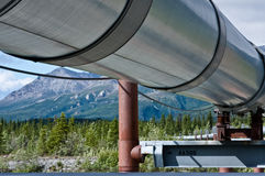 Trans-Alaska Pipeline Stock Photo