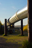 Trans-Alaska Pipeline in Fall Royalty Free Stock Photo