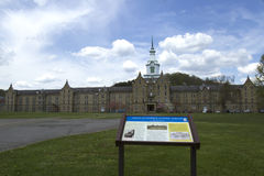 Trans-Allegheny Lunatic Asylum and grounds Stock Photos