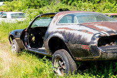 Trans Am With No Door Stock Photography