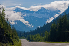 Trans canada highway Royalty Free Stock Images