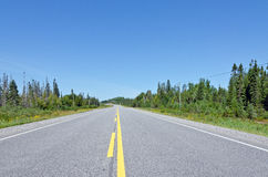 Trans Canada highway Royalty Free Stock Photo