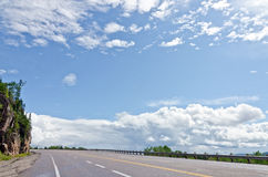 Trans Canada highway Stock Photos