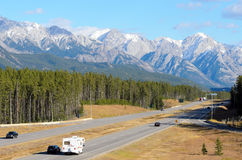 Trans Canada Highway Stock Images