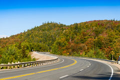 Trans-Canada Highway in northern Ontario Royalty Free Stock Photography
