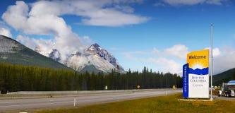 Trans-Canada Highway Panorama Stock Image